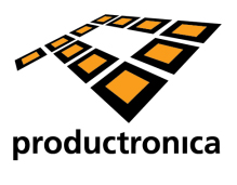 20130717_Logo_Messe_productronica_Muenchen_Ur_et_hanes