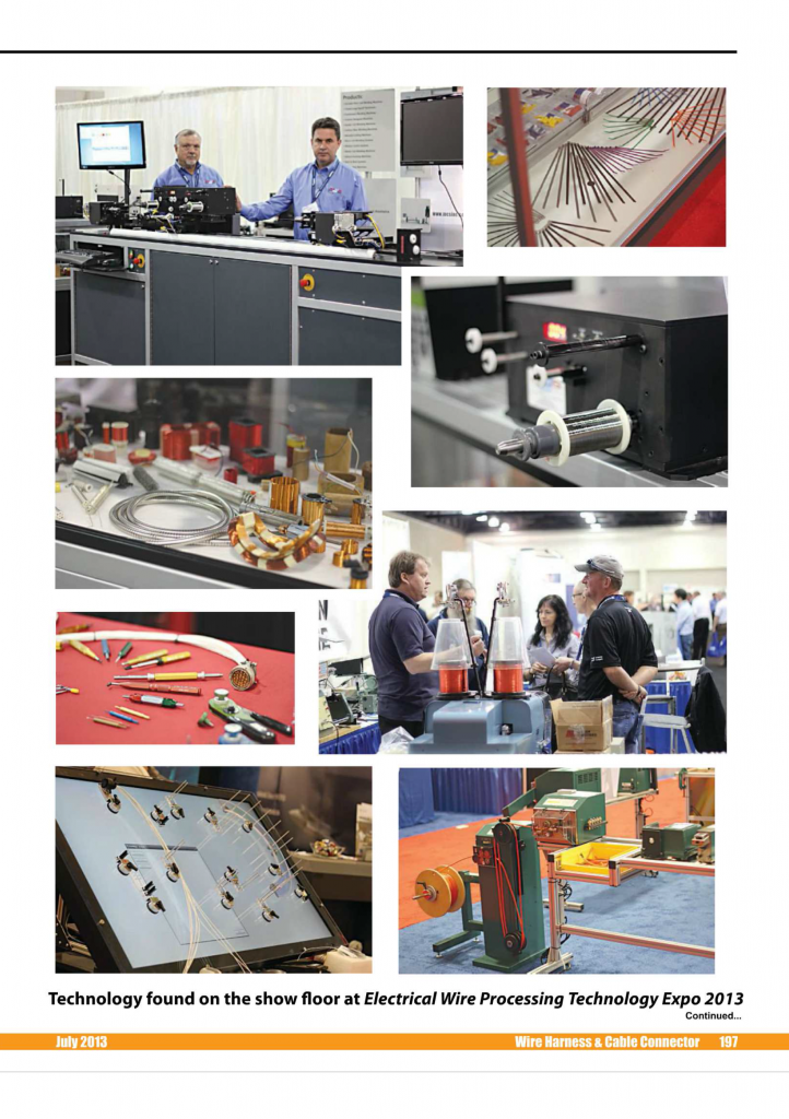 Wire Harness & Cable Connector-Electrical Wire Processing Technology Expo-table de cablage interactive Laselec