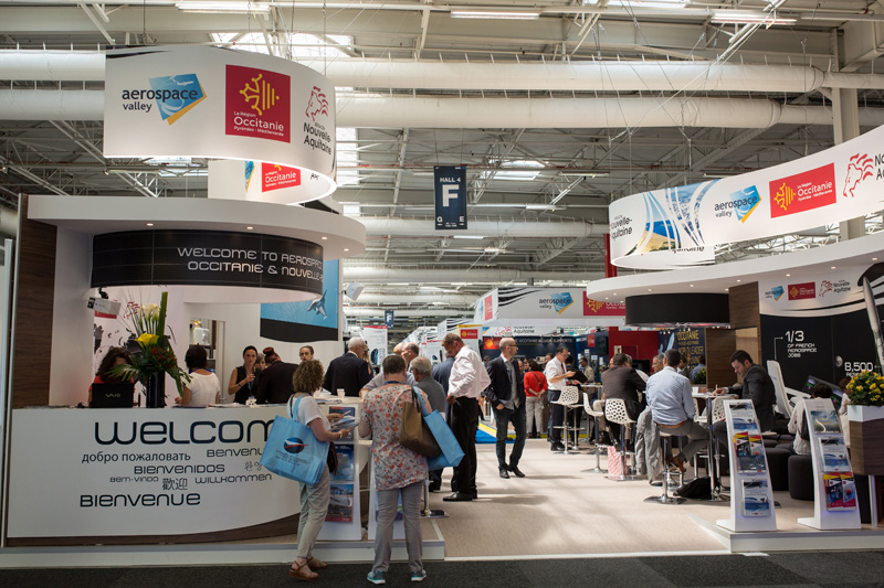 Pavillon Occitanie Salon du Bourget 2017