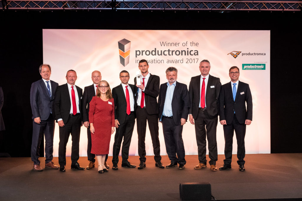Productronica innovation award 2017 to Laselec