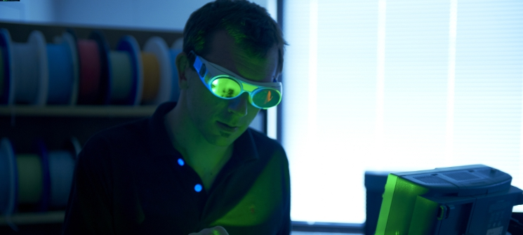 expertise in the field of laser technology