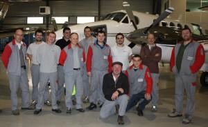Equipe avionique BCA