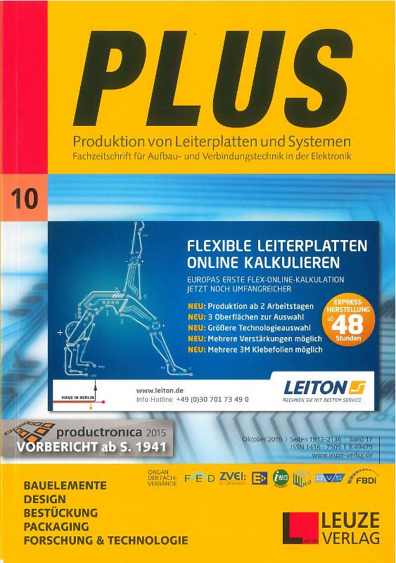 Parution-PLUS Fachzeitschrift